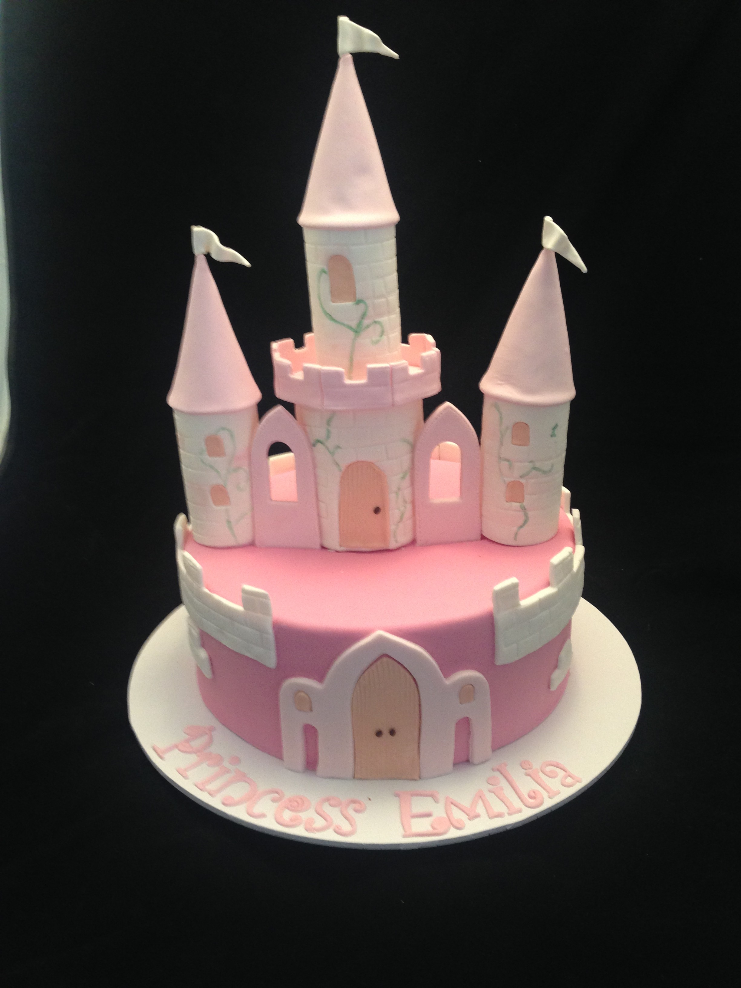 Fairy Castle Cake Sydney Cake Art